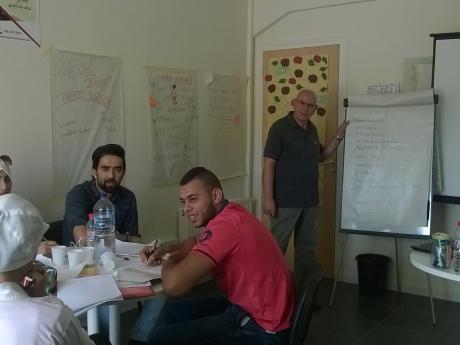 Animation séminaire entrepreneuriat août 2015